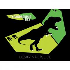 Desky na čísla T-Rex