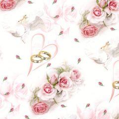 Svatební papír POL-MAK 39632