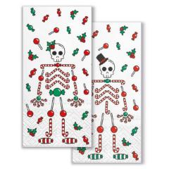 Vánoční papírový kapesníček Sweet Couple