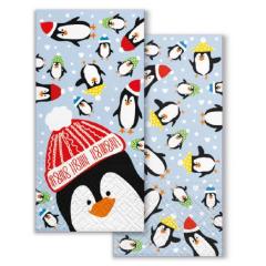 Vánoční papírový kapesníček Winter Friends