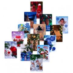 Vánoční pohledy 3D S3D