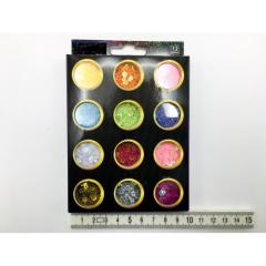 Dekorační konfety 12 ks