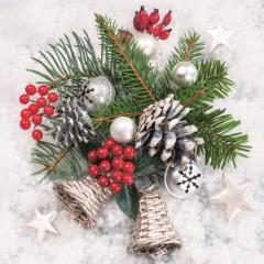 Vánoční ubrousek Xmas Winter Decor