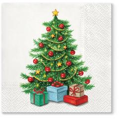 Vánoční papírový ubrousek TL 836000