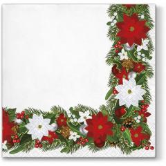Vánoční papírový ubrousek TL 683000