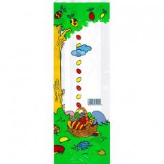 Velikonoční sáček čirý - Kraslice