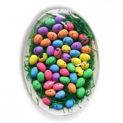 Polystyrenová vejce na papírém tácku WPJ-9725