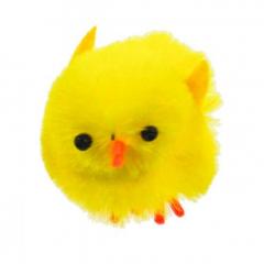 Velikonoční dekorace - kuřátko 36ks