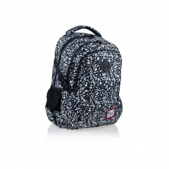 Studentský batoh Hash - Black Terrazzo