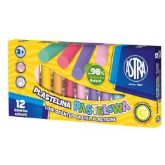 ASTRA pastelová plastelína s vůní 12 barev