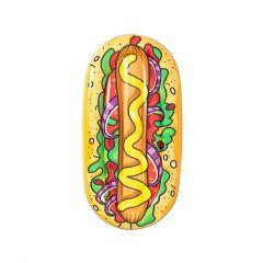 Nafukovací plážové lehátko Hot Dog