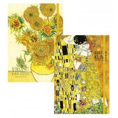 Skicovací notes A5 80l Vincent & Klimt