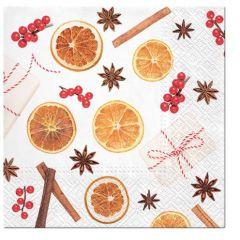 Aromatický vánoční ubrousek Christmas Flavours