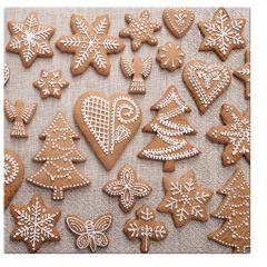 Aromatický vánoční ubrousek Sweet Gingerbreads