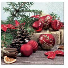 Vánoční papírový ubrousek - Holiday Time
