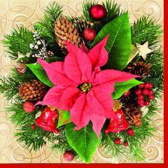 Vánoční papírový ubrousek SDGW002601
