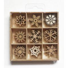 Dřevěné ozdoby v krabičce CDX-5061