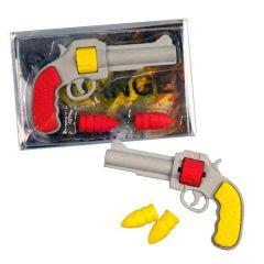 Dekorační pryž - pistole s náboji