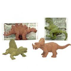 Pryž dinosaur triceratops hnědá