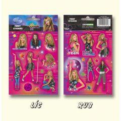 Samolepky Funny Hannah Montana