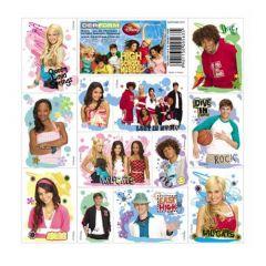 Samolepky High School Musical 16 x 16