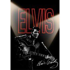 Záznamní kniha A6 120l Elvis Presley