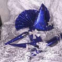 Vánoční fólie 100 x 70 cm Cielo stellato giorno