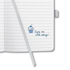 """Exkluzivní zápisník """"Jolie"""", Caschmere Charm, linkovaný, 95x150 mm, 174 listů, SIGEL"""