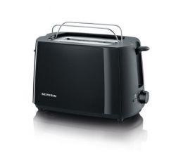 Toaster, 2 toasty, černá, SEVERIN