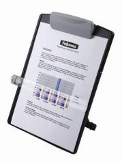 Držák dokumentů, FELLOWES Standard, šedý