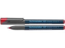 Permanentní popisovač Maxx 222 F, červená, 0,7mm, OHP, SCHNEIDER