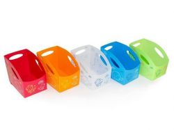 Dětský úložný box S, malý, bílá , PRIMOBAL