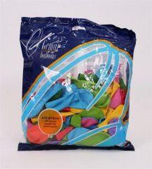 Balónky, 18 cm, mix barev ,balení 100 ks