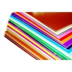 Dekorační karton, bordó, oboustranný, 48 x 68 ,balení 25 ks