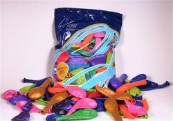 Balonky, mix barev, perleťové, 26 cm ,balení 100 ks