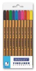 Linery C970, 10 barev, 0,4 mm, GRANIT