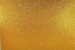 Pěnovka, 400x600 mm, s glitry, zlatá, APLI Eva Sheets ,balení 3 ks