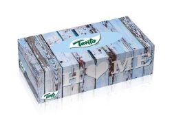 Kapesníky v boxu Family Box, 2 vrstvé, 120 útržků, TENTO ,balení 120 ks