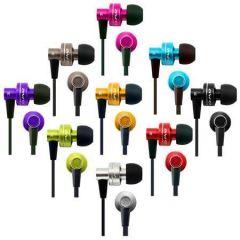 Sluchátka do uší ES900i, stříbrná, s mikrofonem, AWEI