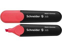 Zvýrazňovač  Fluo Peps Soft job 150, červený, 1-5mm, SCHNEIDER