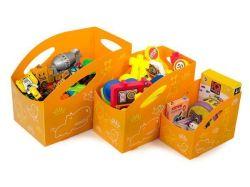 Dětský úložný box L, velký , oranžová, PRIMOBAL