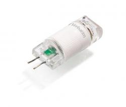 LED žárovka, teplá bílá, blister, G4 patice, 80lm, 1W, 2700K, VERBATIM