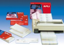 Tabelační etiketa, jednořadé, 73,7 x 36mm, 4000ks/bal., APLI