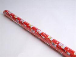 Balicí papír, motiv vánoční, 70 x 200 cm