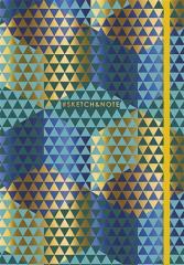 Skicákový sešit Sketchnote, mix, A5, tečkovaný, 80 listů, SHKOLYARYK