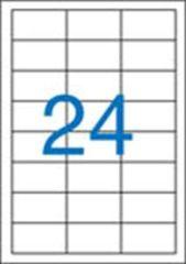 Etiketa, ILC, 64,6x33,8 mm, 2400 ks/bal., VICTORIA ,balení 100 ks