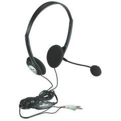 Sluchátka, s mikrofonem 164429, drátová, MANHATTAN