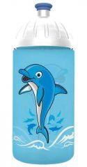 FreeWater láhev 0,5l Delfín tyrkysová, FREEWATER