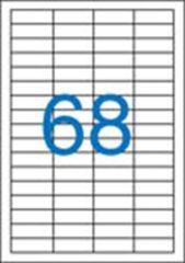 Etiketa, ILC, 48,5x16,9 mm, čtyřřadé, 6800 ks/bal., VICTORIA ,balení 100 ks
