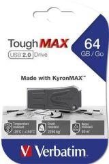 Disk ToughMAX, černá, extra odolný, 64GB, USB 2.0, VERBATIM